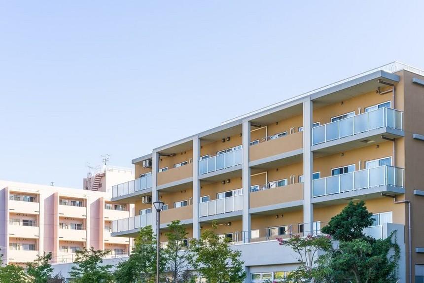 附图:日本的公寓房