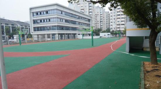 附图:学校跑道