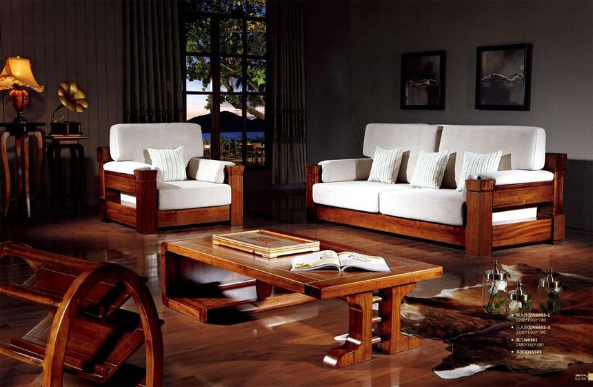 附图:实木家具