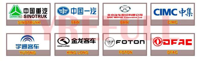 Truck tire original supplier