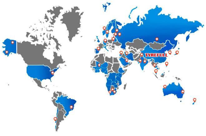 TYREFULL INTERNATIONAL SALES NETWORK