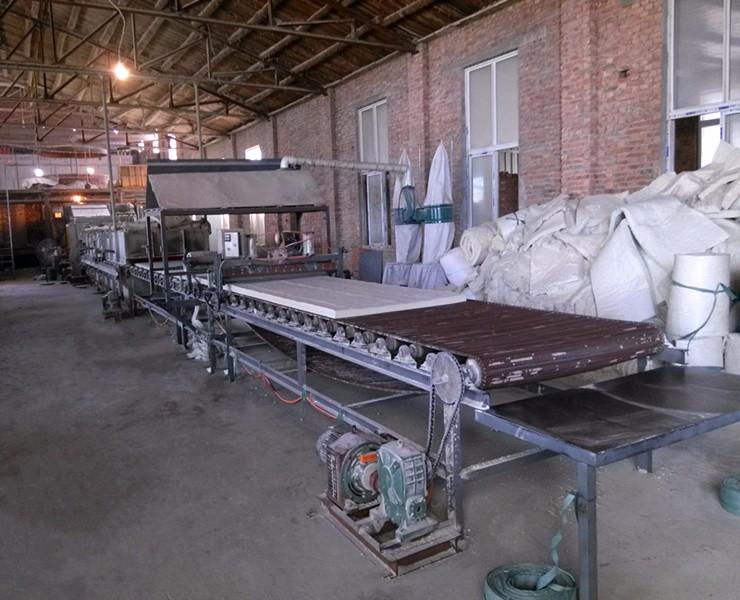 硅酸铝针刺毯是如何生产的