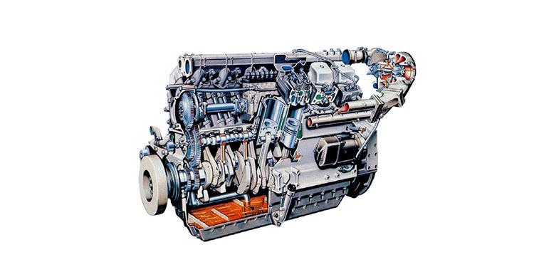水井钻机发动机图片