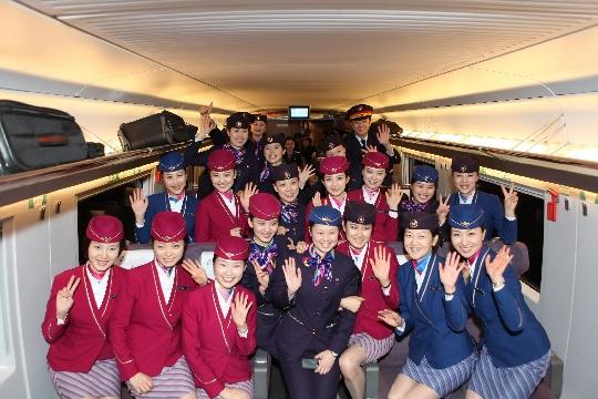 核工业成都机电学校旅游管理专业(含航空、高铁、地勤方向)学生风采