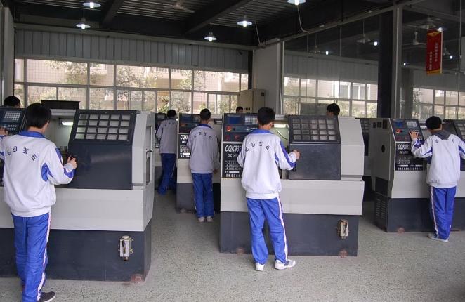 核工业成都机电学校数控技术专业(含模具制造)学生风采