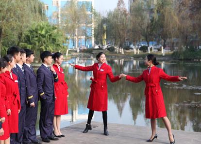 航空服务专业学生风采
