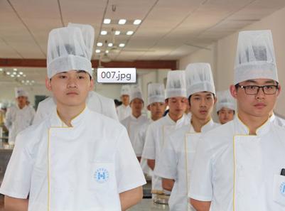 烹饪专业学生风采