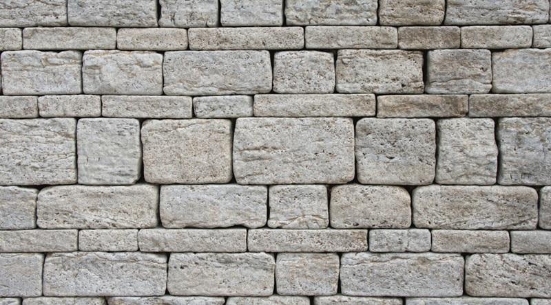 固强仿古青石板墙面铺装工艺施工