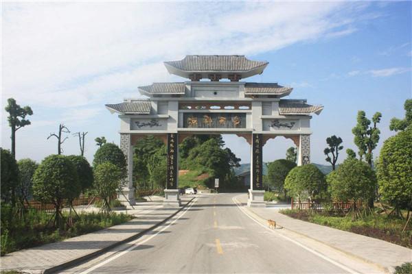 景区石牌坊石牌楼设计-固强石雕厂