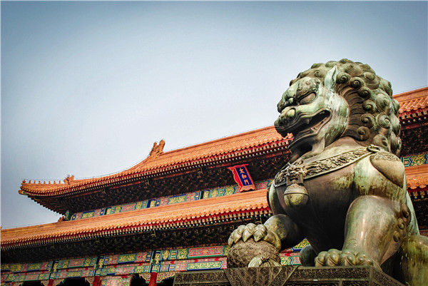 石雕狮子的寓意-固强青石板材