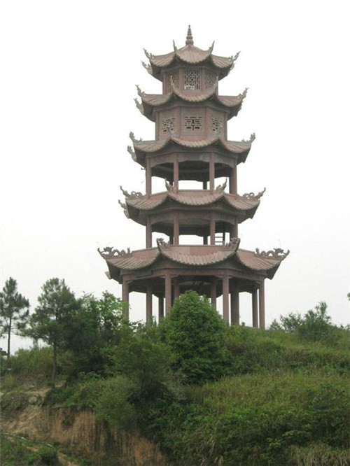 寺院佛塔的特点和意义-固强青石板材