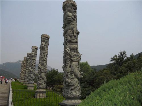 石雕龙柱的作用-固强青石板材