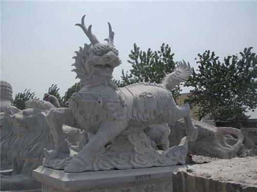 石雕麒麟的寓意-固强青石板材
