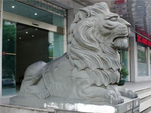 石雕狮子的种类-固强青石板材