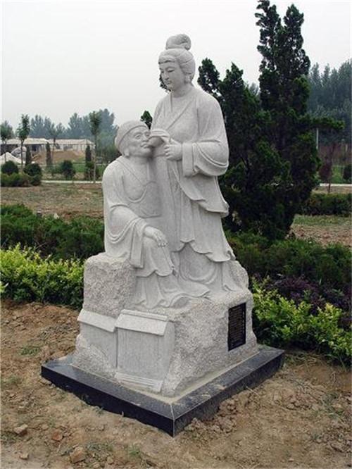 二十四孝人物石雕图片-固强青石板材
