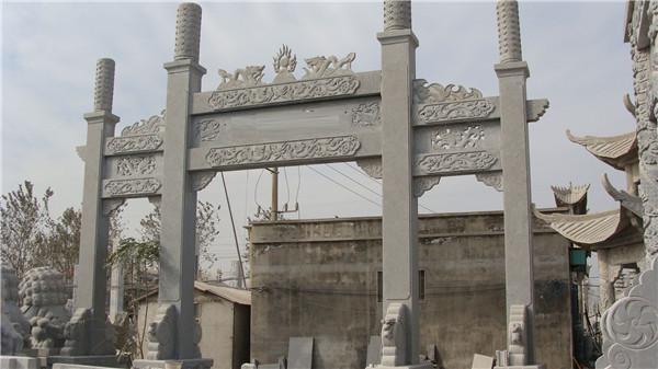 石牌坊的结构特点-固强青石板材