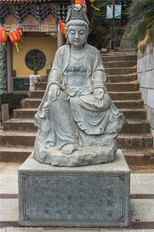 石雕观音菩萨的类型-固强青石板材