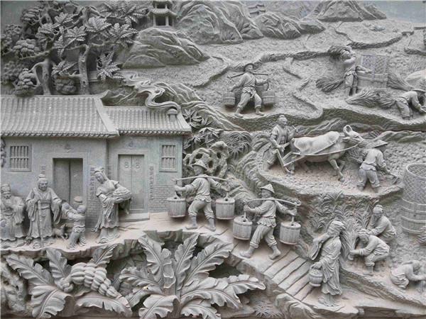 情感在石雕艺术创作中的表现