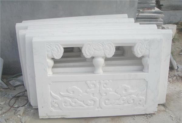石栏板常见的雕刻图案及寓意
