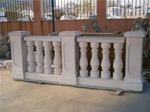 水泥仿木栏杆的制作方法