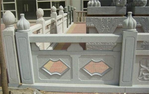 石栏杆的清洗方法-固强青石板材