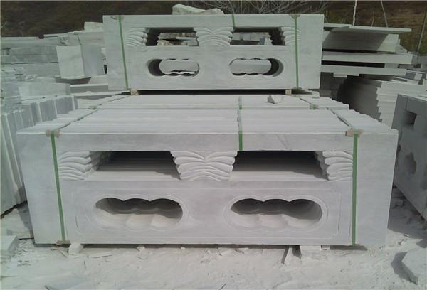 草白玉栏杆多少钱一米-固强青石板材