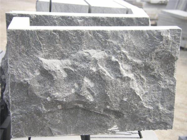 青石板燒面跟自然面的區別-固強青石板
