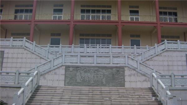 寺庙青石栏杆雕刻特点-固强青石板