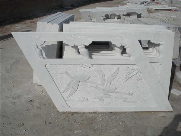 石栏杆斜坡的安装方式及计量方法-固强青石板