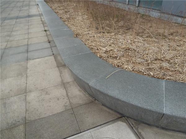 灰黑色青石路沿石价格是多少-固强青石板