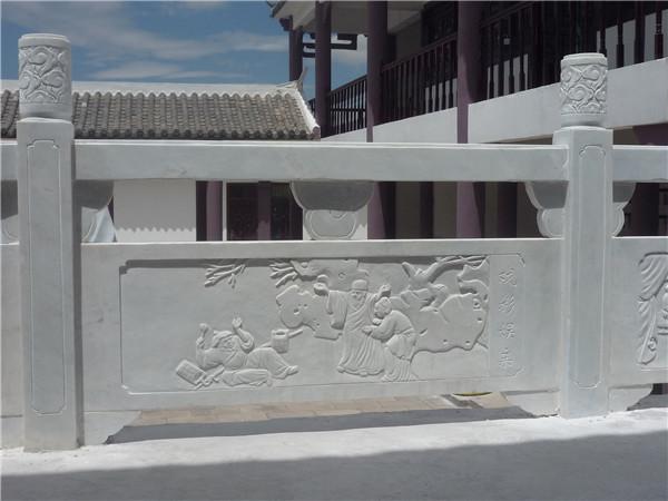 大理石栏杆的安装方法步骤-固强青石板