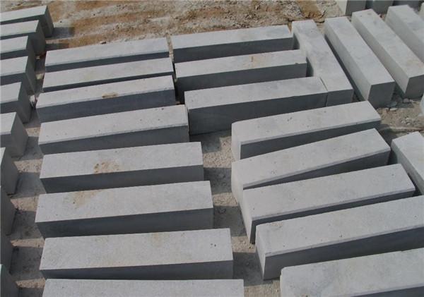 花崗巖路沿石接縫的處理方法-固強青石板
