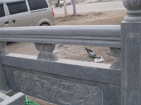 青石栏杆施工工艺流程及注意事项-固强青石板