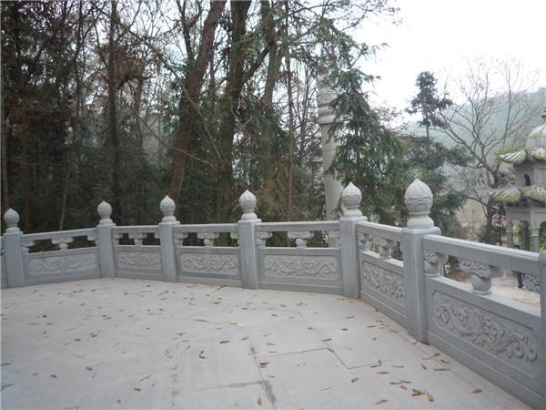 汉白玉栏杆的安装工艺及注意事项-固强青石板