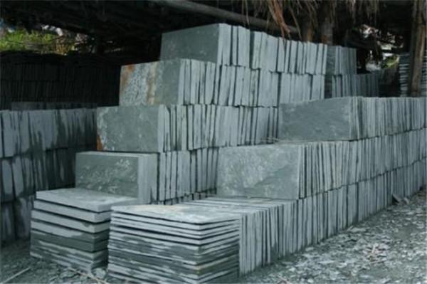 山東青石板材各種病變的鑒別方法