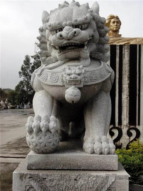 石雕獅子的擺放有什么講究