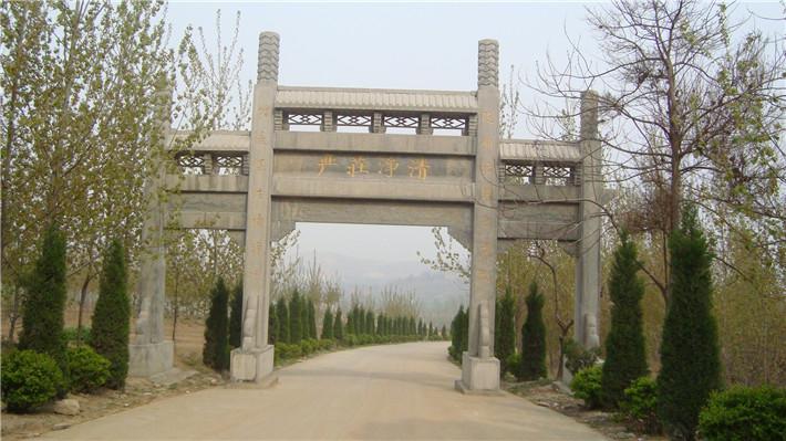 寺廟石牌坊