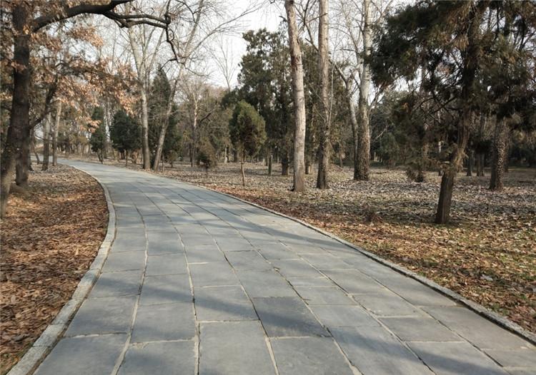 園林青石板路貼圖