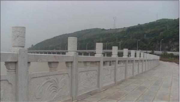 河道石欄桿的造型設計與分類