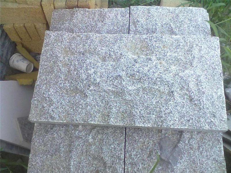 2.5公分蘑菇石青石板材