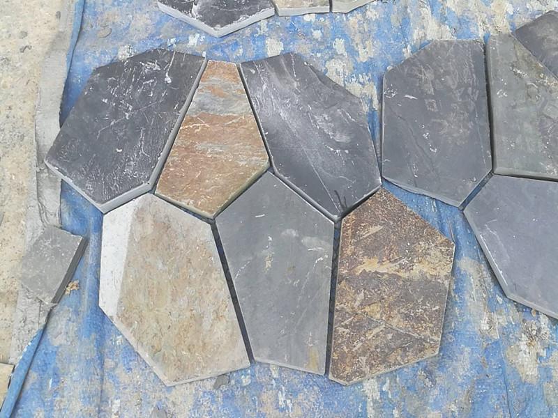 如何鋪裝青石板冰裂紋