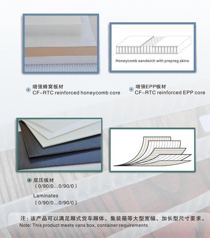 热塑性复合材料片材