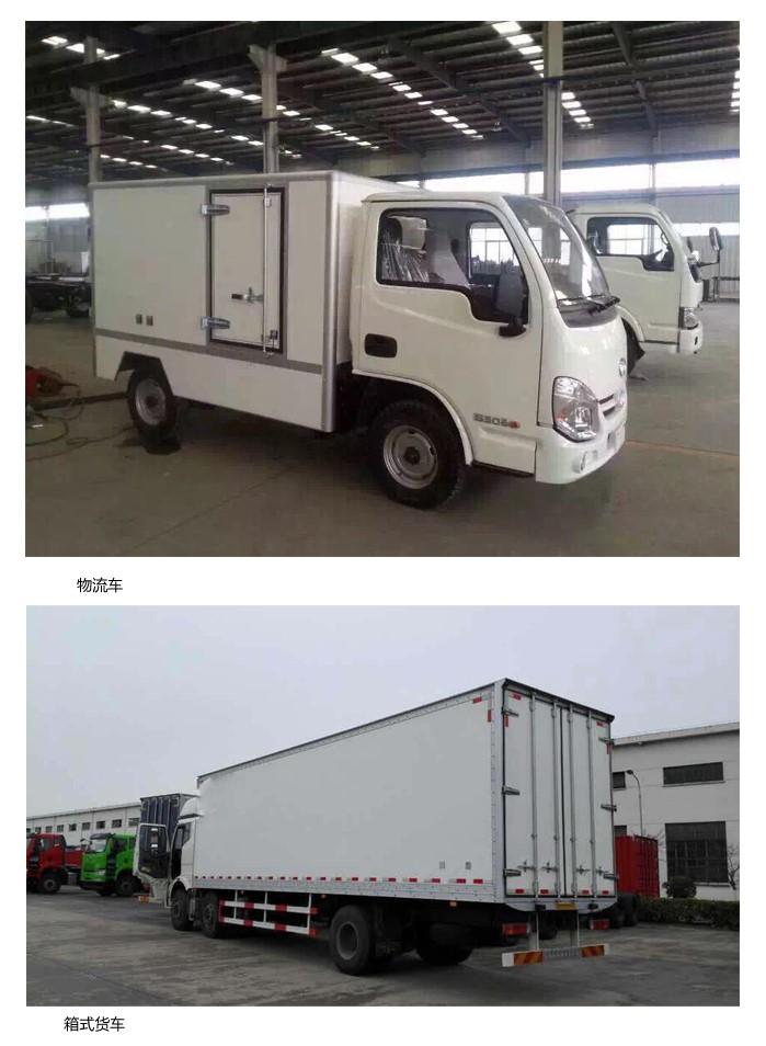 复合材料厢式货车中的应用