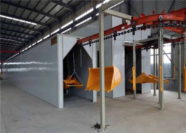 工程配件自动化喷涂生产线