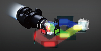 3LCD技术带来高品质影像 - Epson CB-G7100产品功能