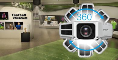 360度灵活安装 - Epson CB-G7100产品功能