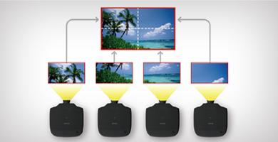 自动比例调整 - Epson CB-G7100产品功能