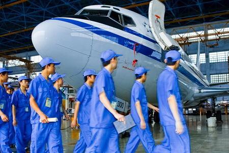 飞机维修专业