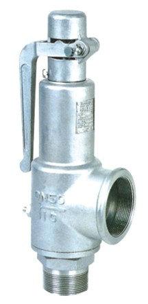 A27W-10P全不锈钢弹簧微启式安全阀 弹簧呆扳手外螺纹微启式安王恒和董海���扇擞崎e全阀.jpg