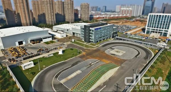 沃尔沃建筑设备济南技术中心俯瞰图